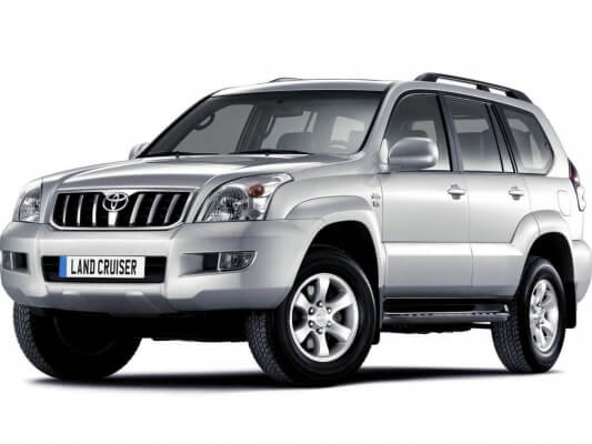 TOYOTA LAND CRUISER PRADO на прокат в Алматы